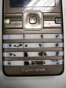 My Sony Ericsson K770i